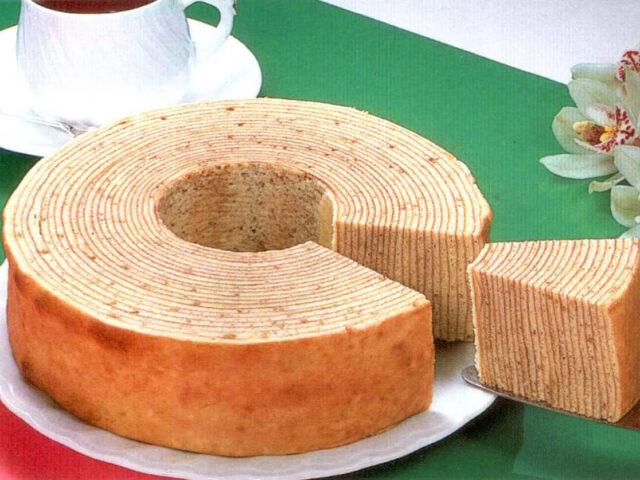 伝統のバウムクーヘン