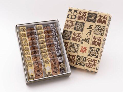 石窯焼煎餅五月ヶ瀨 16枚入